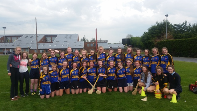 CASTLECOMER COMMUNITY SCHOOL MINOR CAMOGIE TEAM 2016
