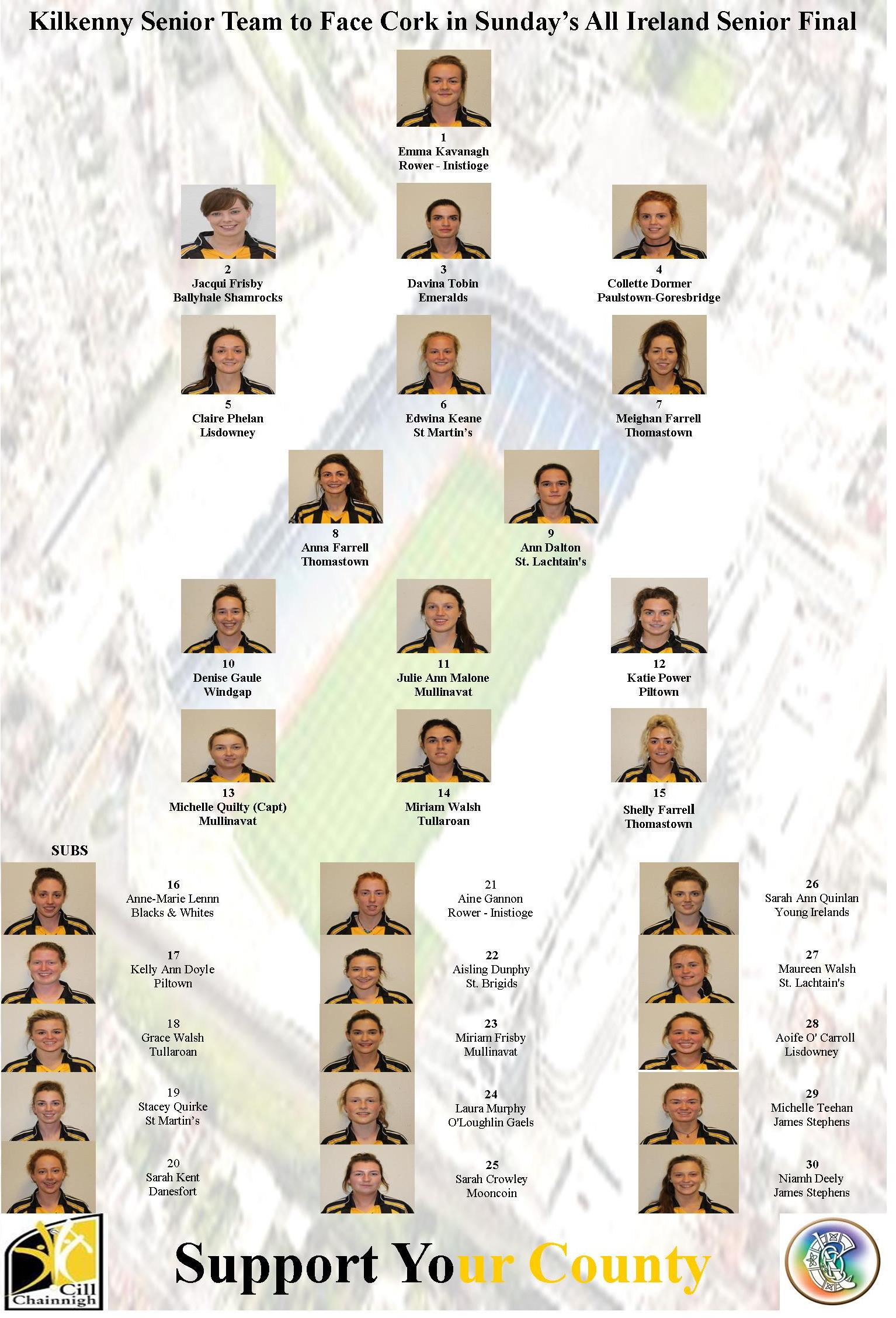 Kilkenny Senior Team