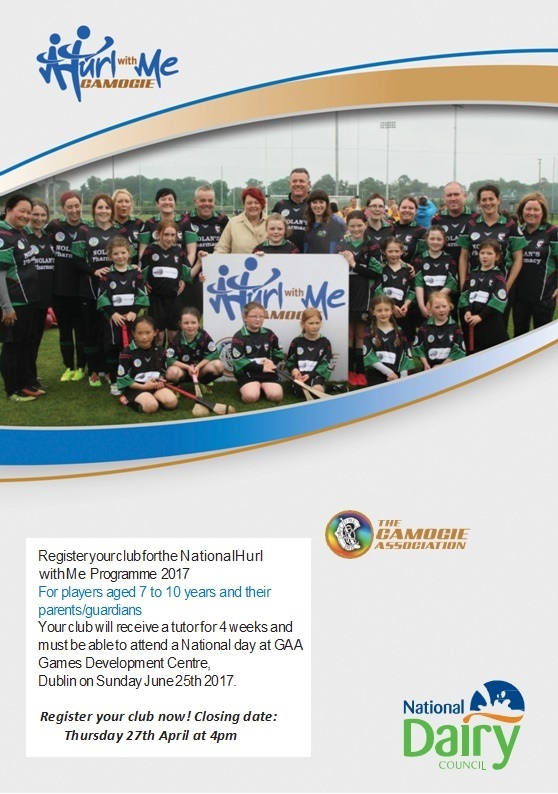 2017 Camogie Hurl with me Flyer