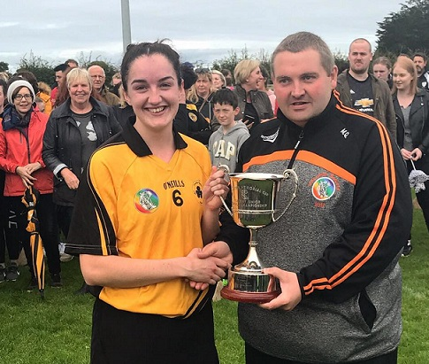 conahy winning captain roisin phelan