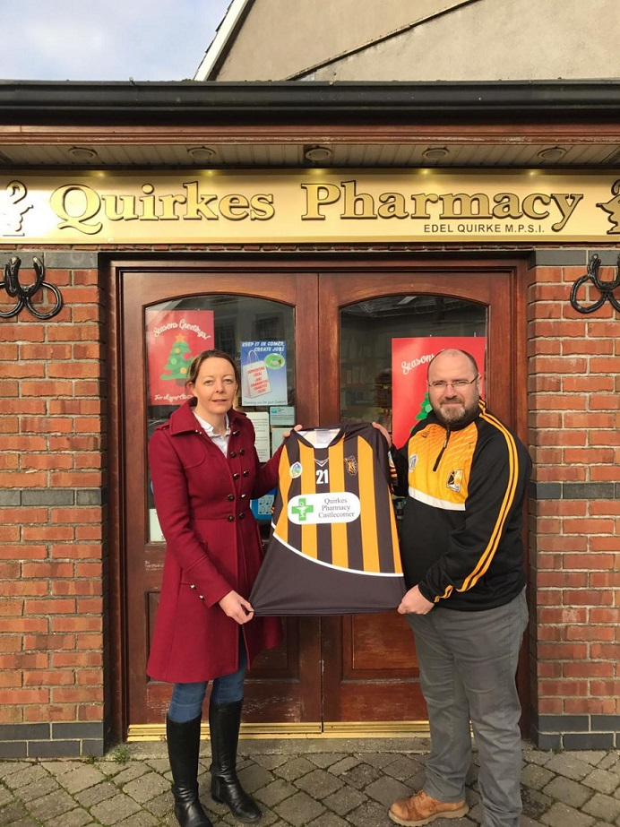 Edel Quirke Quirkes Pharmacy sponsors