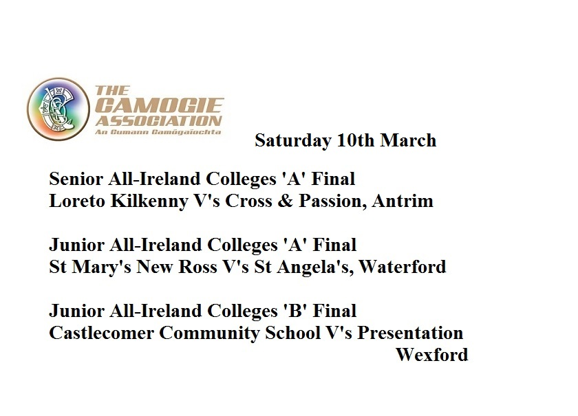All Ireland Colleges matches 100318