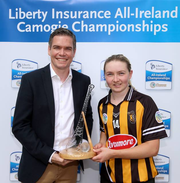 Michelle Quilty PLayer of the Match 22.07.2018