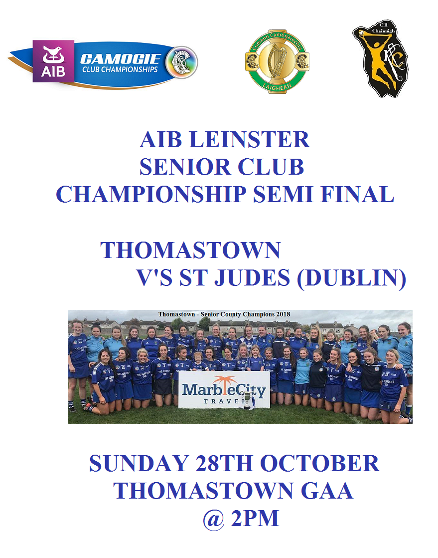 Senior Leinster Semi Final