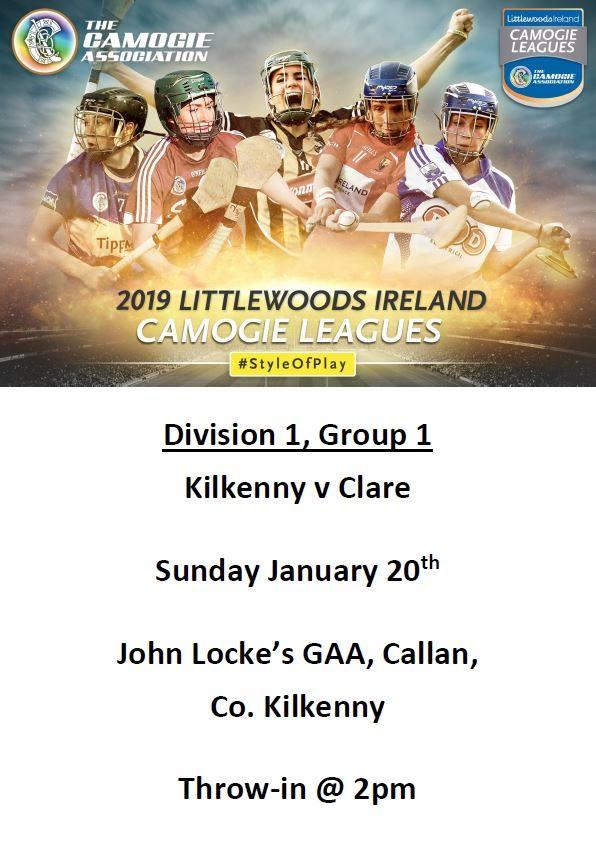 Kilkenny v Clare promotion
