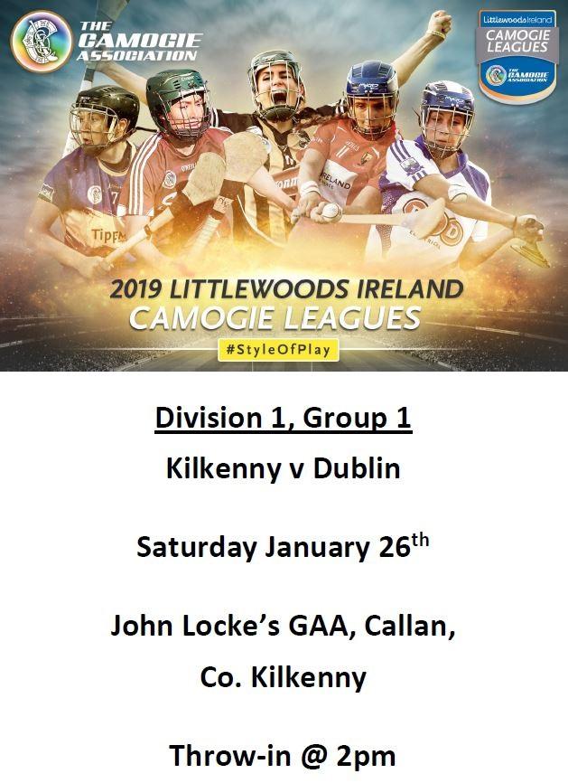 Kilkenny  v Dublin promotion