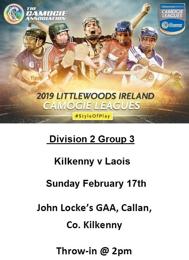 Kilkenny  v Laois promotion