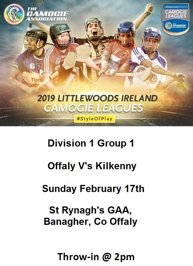 Kilkenny  v Offaly promotion