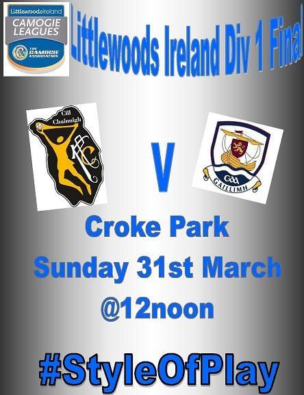Kilkenny  v Galway League Final promotion