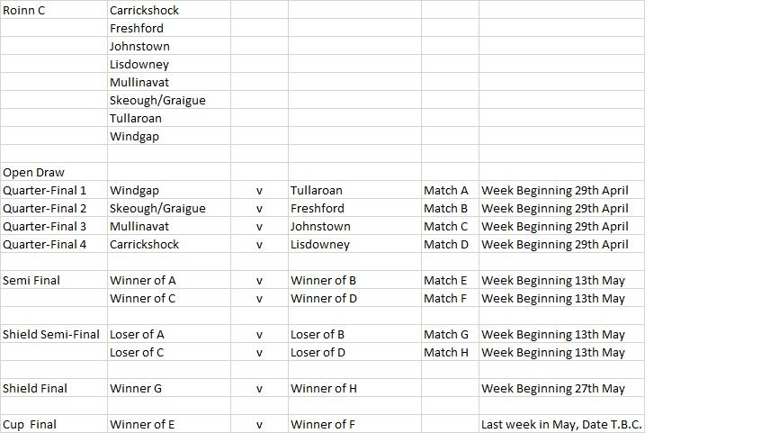 Roinn C Championship