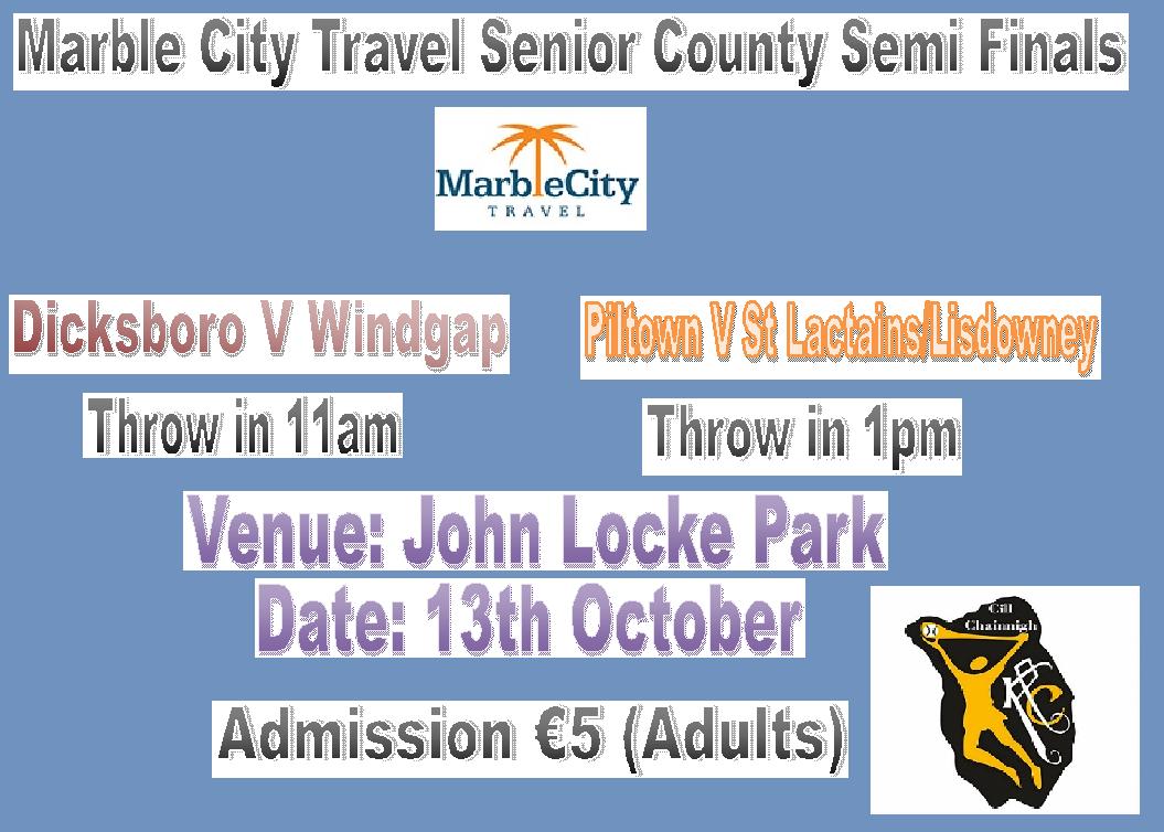 Senior Semi Finals Poster