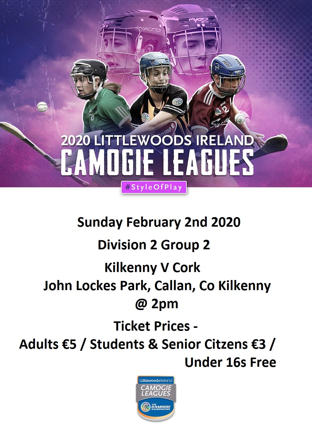 Kilkenny v Cork Intermediate promotion 020220