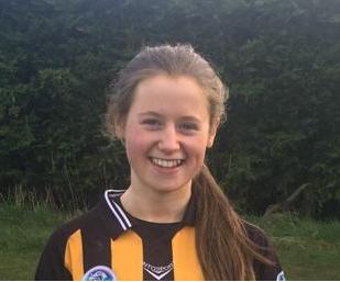 Amy Lawless U16B Captain