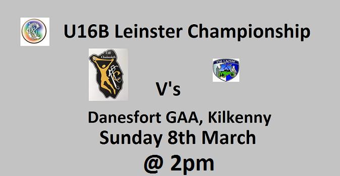 Kilkenny v Laois - Events Facebook 080320